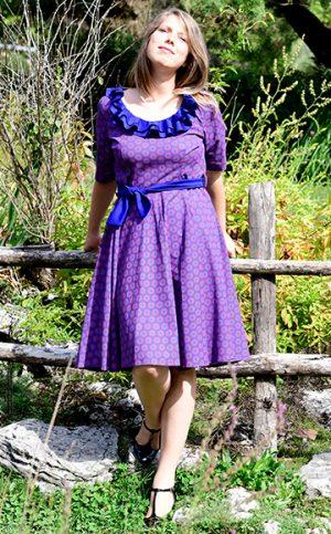15-okavee-blue-violet-dress-dark-blue-neck-frills-belt
